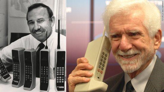 """手机之父:我发明""""手机""""最大的缺陷是必须要充电"""