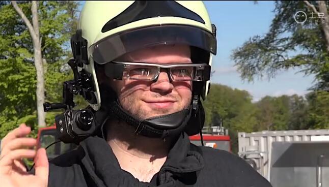 增强现实眼镜和谁最配?消防员站了出来