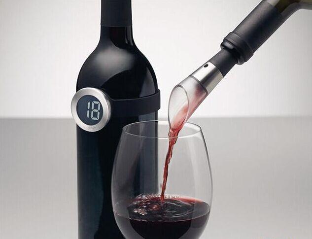 Wine Thermometer:一只给红酒戴的手表