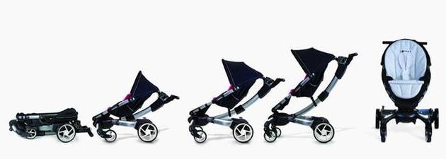 婴儿车界的特斯拉 一键变形收放自如