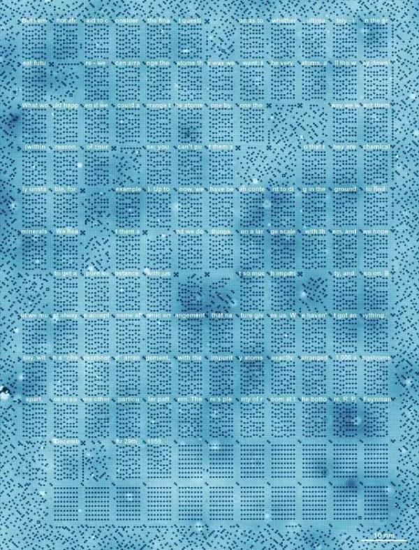 坚实一步:原子储存信息的技术正在变为现实