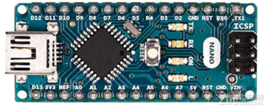 小巧、全面――Arduino NANO V3评测