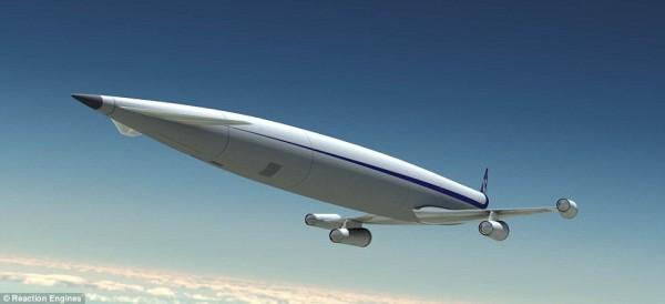 """英国研发新型发动机代号""""佩刀"""" 开启客机5马赫时代"""
