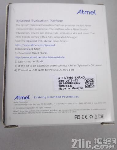 """""""小""""有可为――Atmel ATtiny 104评测"""