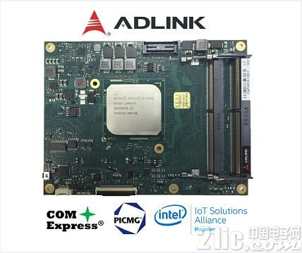 凌华科技推出第一款基于COM Express® 3.0规范的Type 7嵌入式模块化电脑
