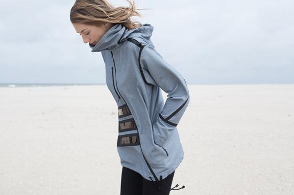 一件保证你电力十足的夹克 能挡风会发电还很潮