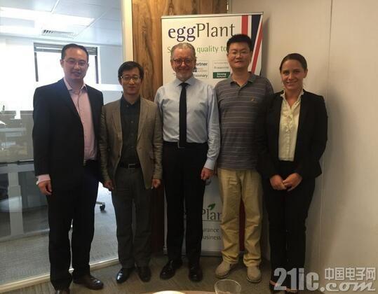 亿道电子拜访TestPlant总部并达成战略合作