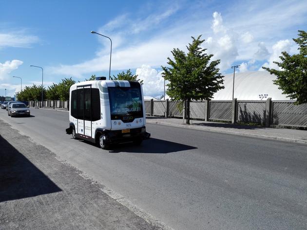 无人驾驶巴士开上公共道路,芬兰率先测试