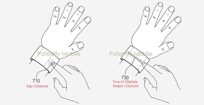 对抗苹果:三星曝智能手镯多曲面屏连接