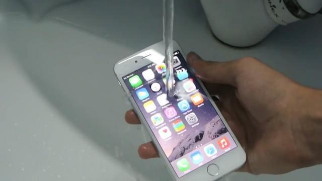 苹果曝水下摄影专利,未来iPhone也防水
