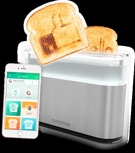 面包「打印机」,让你的面包烤出 emoji 表情!