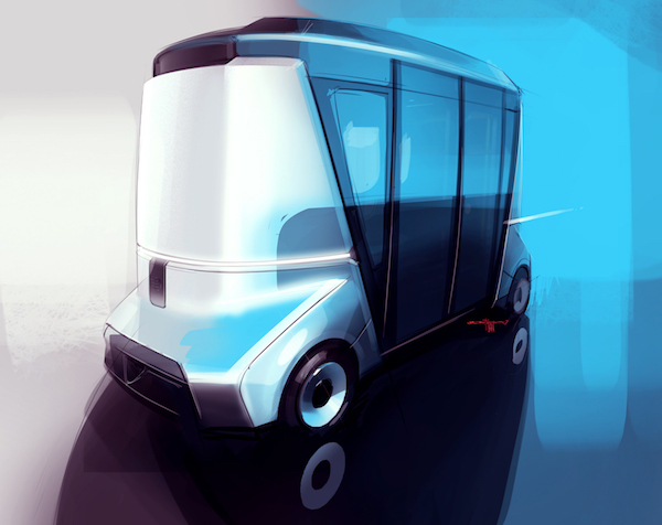 Matreshka:多功能无人驾驶小巴士或将亮相2018世界杯