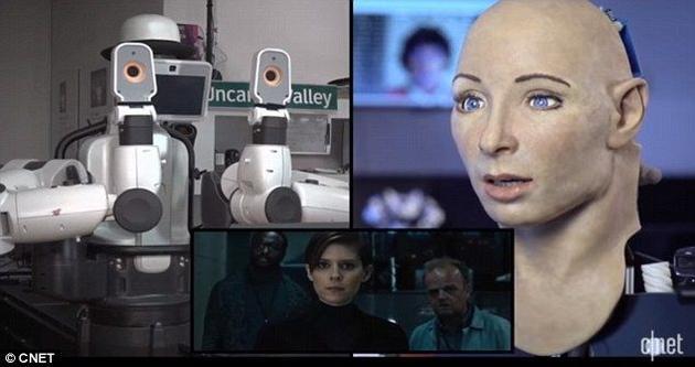 给机器人看恐怖片,机器人的反应更恐怖