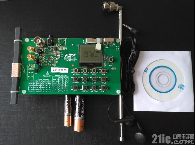 单片FM/AM频段广播接收芯片——Si4731Demo演示板评测
