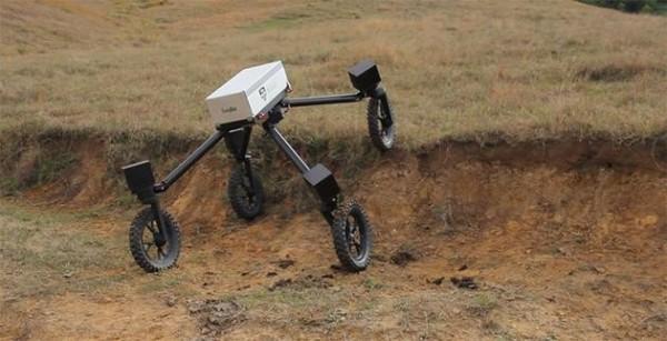 """机器人""""牛仔""""SwagBot 澳大利亚农民的好帮手"""