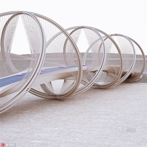 """中国建造的魅力!北京冬奥会""""五环桥""""造型曝光"""