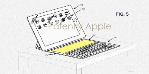 苹果曝新专利:未来Smart Keyboard或配置屏幕