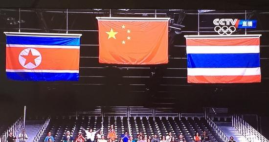 这才是我们的国旗!里约奥运赛场终于升起正确五星红旗!