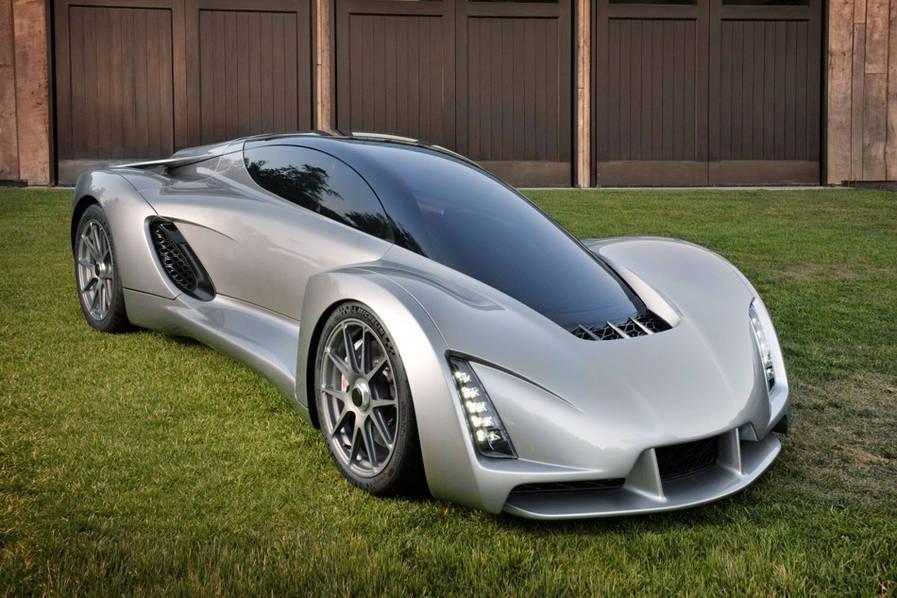 世界首辆3D打印超级跑车诞生:百公里加速只需2秒