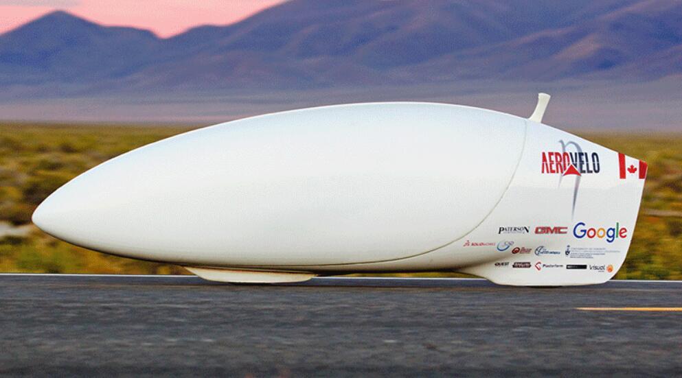 这是要飞!子弹头人力自行车能飙144km/h
