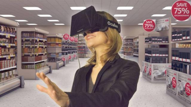 VR购物概念火爆,电商巨头热捧