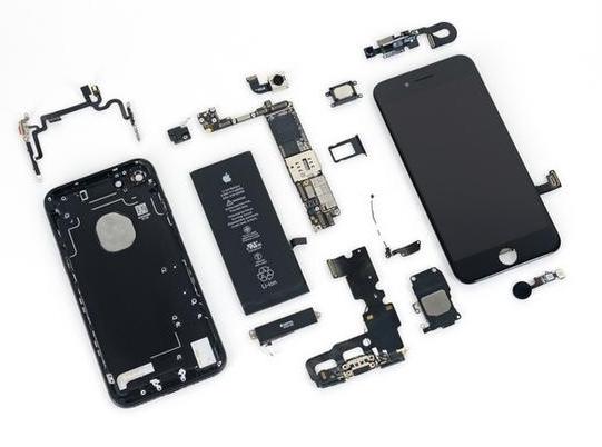 比上一代涨了不少,iPhone 7硬件成本大概1500元!