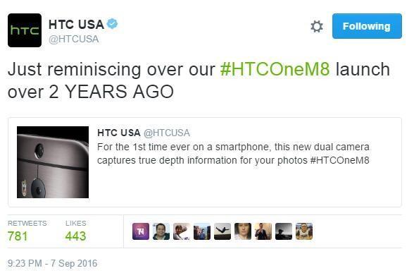 关于双摄像头,HTC也来刷了一把存在感