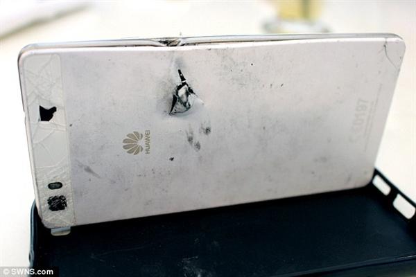 不能挡子弹的手机不是好手机,华为P8挡子弹救下男子命