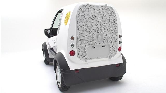 """本田开发""""超紧凑电动车"""",竟是3D打印制成的"""