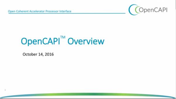 谷歌、IBM等巨头联合推新一代总线标准OpenCAPI