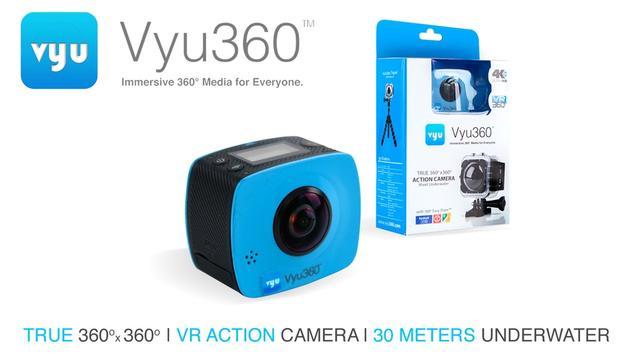 水下全景拍摄?就用这台360度VR相机