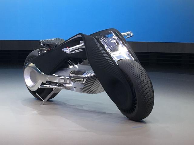 宝马概念摩托车:零排放超环保