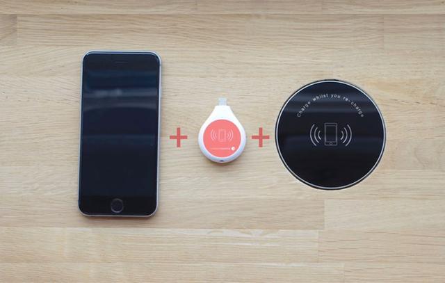 随用随充:可嵌入桌面的无线充电板