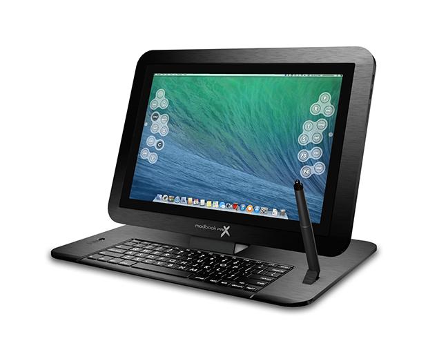 神改装!MacBook Pro竟然被改装成了平板
