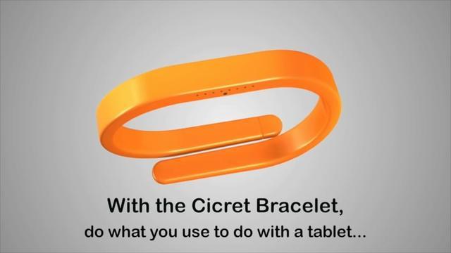 秒变钢铁侠!这个手环让你的手腕变成触控屏
