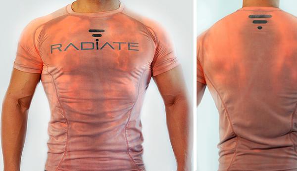 健身控必备:Radiate 智能T恤