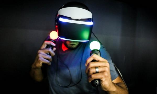 精准互动,Control VR精确到手指动作捕捉