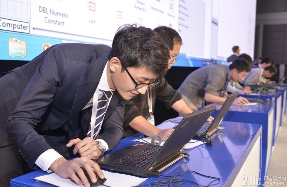 NI 2016LabVIEW国际挑战赛精彩激战