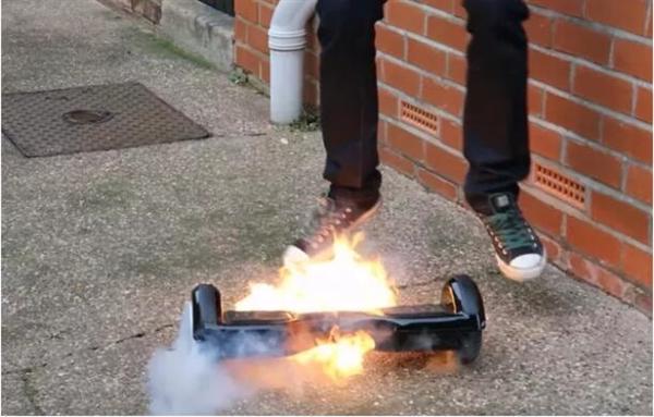 比Note7猛多了,悬浮滑板在美起火烧毁700万元豪宅