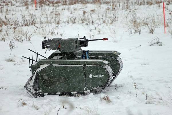 未来战争序曲!这辆模块化无人车辆战车要替代步兵!