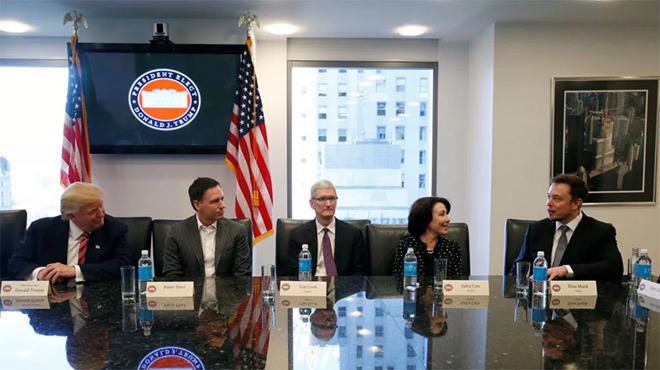 苹果CEO库克回应与特朗普会见真相!