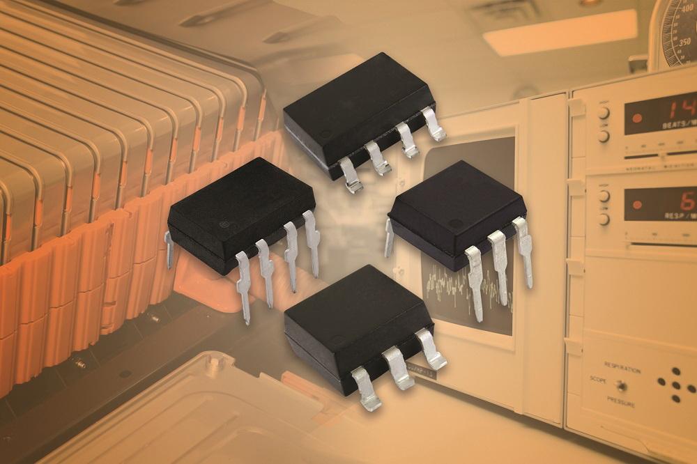 Vishay新款混合固态继电器具有快速操作、宽温和高负载电压等特性