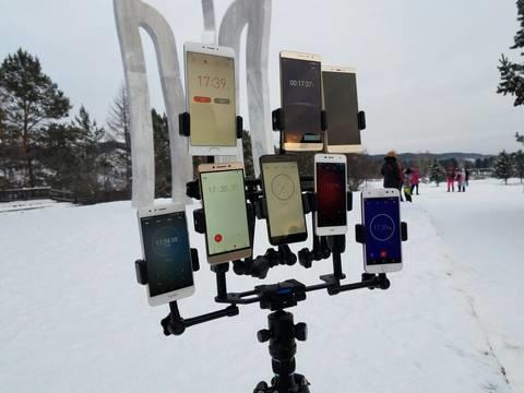 谁最耐冷?零下23℃测手机续航:这酸爽!