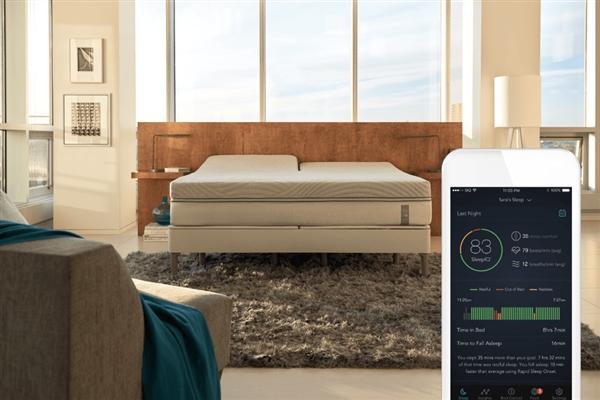 Sleep Number 360智能床:治疗打呼噜还能暖脚