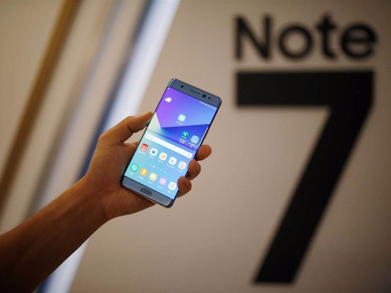 消息称:三星Note 7自产电池爆炸原因是尺寸不合规