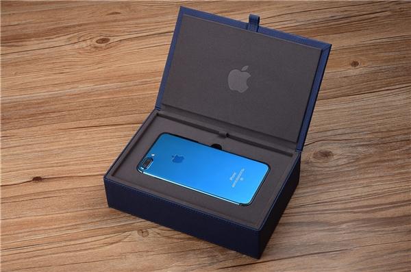 亮蓝色的iPhone 7国内开箱,你惊艳到了么?