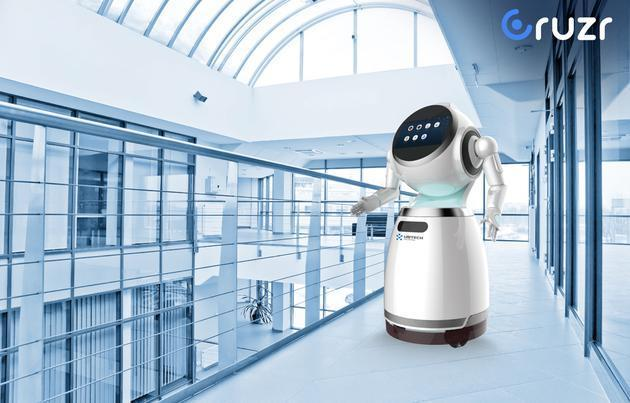 【CES 2017】优必选发布首款B端机器人,能当保安还能听声辨位