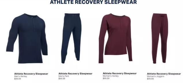 UA推出了一款智能睡衣,要100美元左右