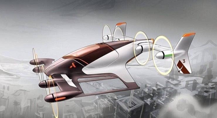 空客研发自动驾驶飞行器 可接收智能手机乘客订单