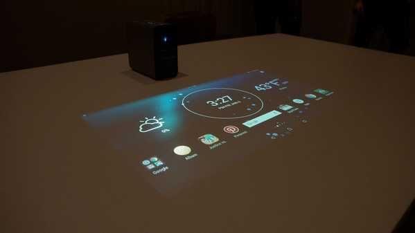 索尼黑科技:Xperia投影仪射出的Android可以触摸